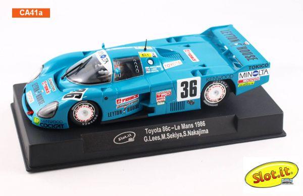 Slot It Toyota 86C - #36 - Le Mans 1986 CA41a