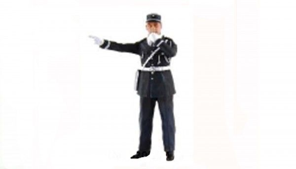 LMM Figur Gendarm Andre 1:32 LMF132055