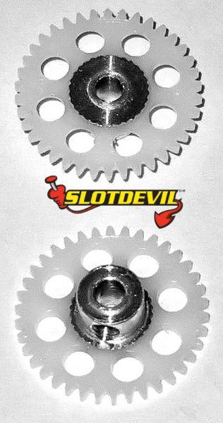 Slotdevil Spurzahnrad 3,0 mm V2 38 Zähne weiß 20250638