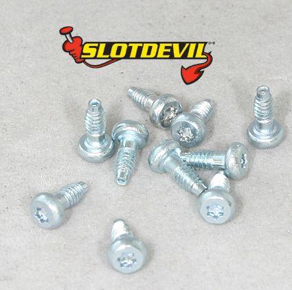 Slotdevil M2,2 x 6,5 mm Bodyschrauben (10 Stück)