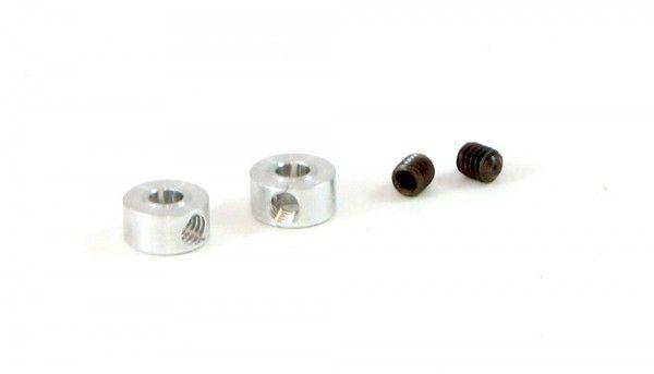 SRP Achsstellring 3/32 Aluminium M2,6 f.Ø2,38mm 03187 (2Stk)