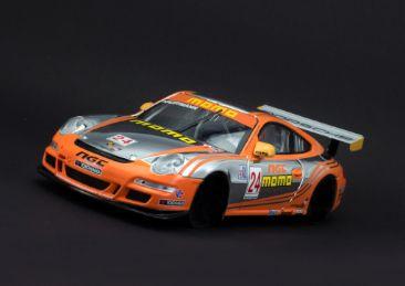 Scaleauto Karosserie Porsche 911 GT3 IMSA GT Road Atlanta winner 1:24