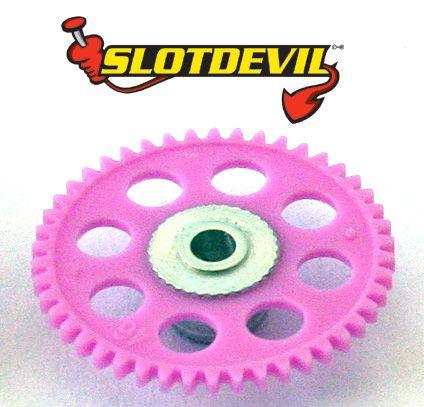 Slotdevil Spurzahnrad Kunststoff V2 46 Zähne 3 mm lila 2025046