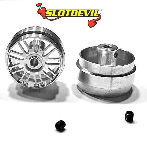 Slotdevil Stegfelge BBS V2 Design 23,5 x 13 mm (Paar)