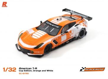 Scaleauto C7R Cup 2017 Orange White SC-6179d