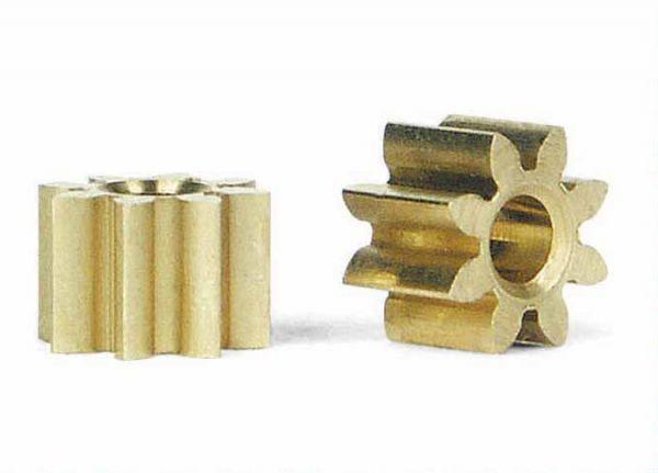 Slot It Motorritzel 8 Zähne (Ø 5,5mm) (2 Stück) PI08