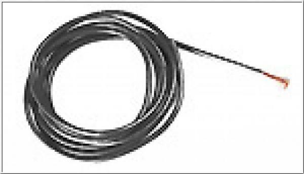 SRP Motoranschlußkabel Superflex Racing Ø1.2mm schwarz 50cm
