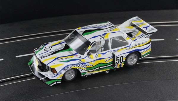Sideways BMW 320 Turbo Le Mans 1977 No. 50