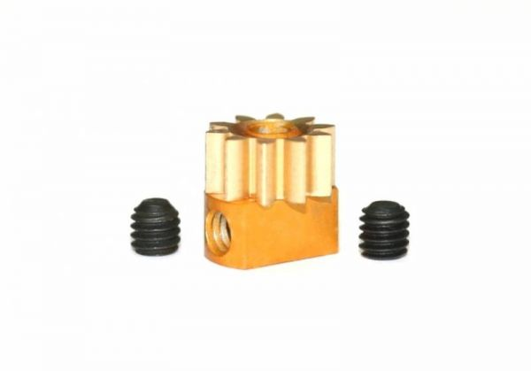 Sloting Plus Motorritzel Z10 geschraubt (Ø 6,5mm)