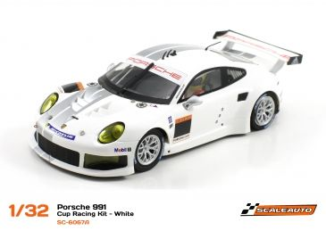Scaleauto Porsche 991 Cup Racing -Weiss- SC6067A