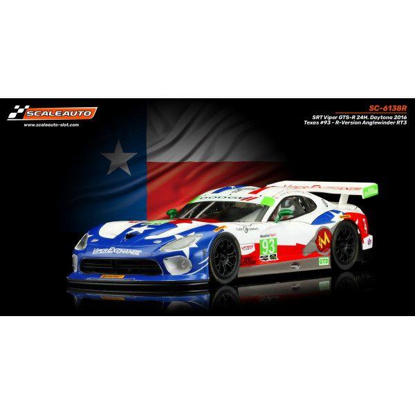 Scaleauto SRT Viper GTSR 24H Daytona 2016 Texas 93 SC6138R