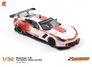 Scaleauto C7R Cup 2017 White Red SC-6179a