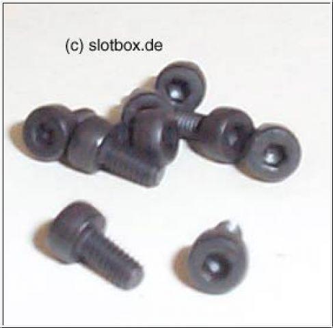 Slotdevil Zylinderschrauben DIN 912 12.9 M2 x 4 (10 Stück)