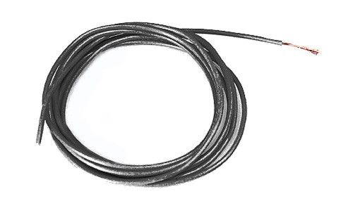 SRP Motoranschlußkabel Ultraflex Racing Ø1.4mm schwarz 50cm Lead Wire UltraFlex B 02891