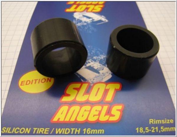 Slotangels Silikonreifen 1:24 18.5-21,5mm (2Stk)