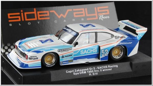 Sideways Ford Capri Team Sachs SW36