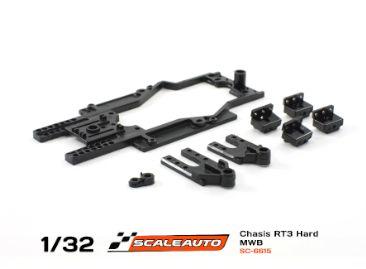 Scaleauto Chassis RT-3 MWB 77-84mm Rev. 3 mit geändertem Leitkielhalter