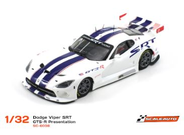 Scaleauto SRT Viper GTS-R Presentation 6038R Racing 1:32