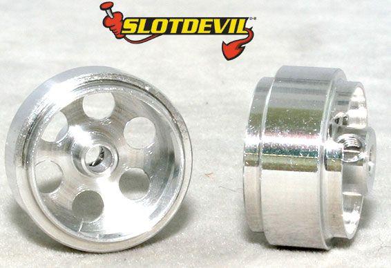 Slotdevil Felge Aluminium 17,9 x 9,5 2,38 mm (2 Stück) 2008181019