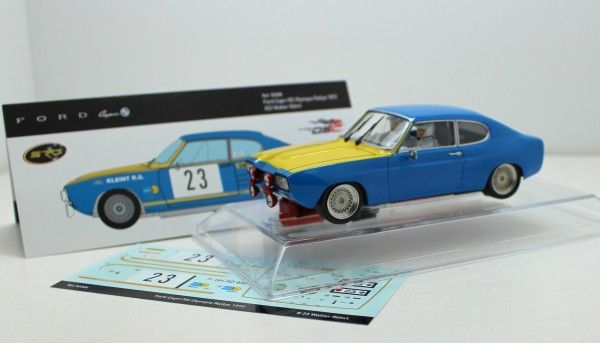 SRC Ford Capri RS,#23 Team Ford Kleint Olympia Rallye 1972 Chrono Series Limited Edition