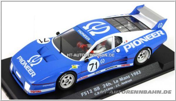 Slotwings 512BB Le Mans 1982 #71 Racing 2.0 m.Avant-Magmotor