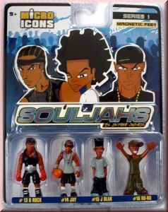 Micro Icons Souljahs Set 4 1:35