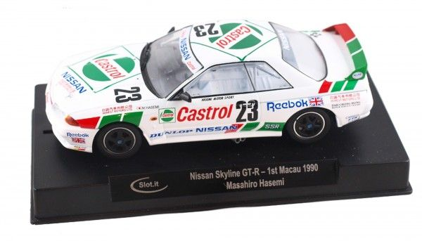 Slot.it Skyline GT-R R32 Macau 1990 No. 23 CA47A