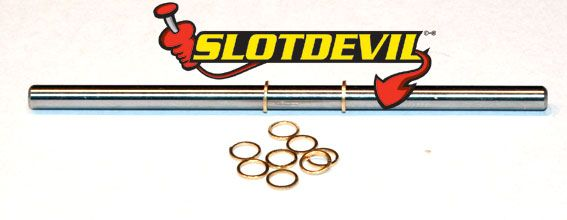 Slotdevil Distanzen Messing 3 mm Breite 0,4 mm (10 St) 20153070
