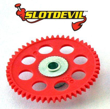 Slotdevil Spurzahnrad Kunststoff V2 52 Zähne 3 mm rosa 20250652