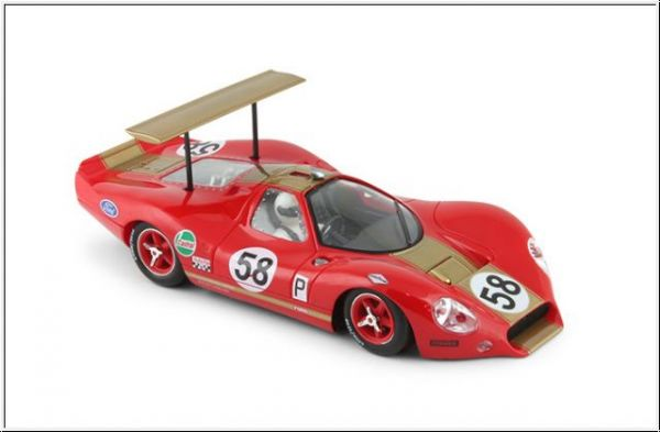 "NSR Ford P68 - #58 red BOAC 500 1969 ""rear wing"""