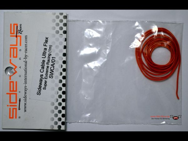 Sideways Motorkabelanschlußkabel Ultra Flex -Super Extreme Racing 1 Meter SWCA/01