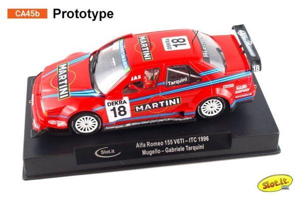 Slot It Alfa 155 V6 TI DTM - #18 ITC 1996 Mugello - Gabriele Tarquini - DTM Classic CA45b