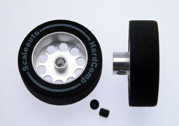 Scaleauto Räder SC-2701P ø25,5x8mm f.ø3,00 mm HardComp