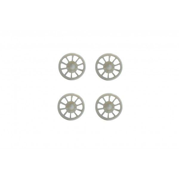 Allslotcar Felgeneinsätze Front für F1 Modelle (4Stk) AS GP 025