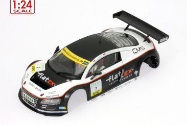 Scaleauto Karosserie AUDI LMS GT3 ADAC GT Masters 2011 #7 Phoenix Racing. 1:24