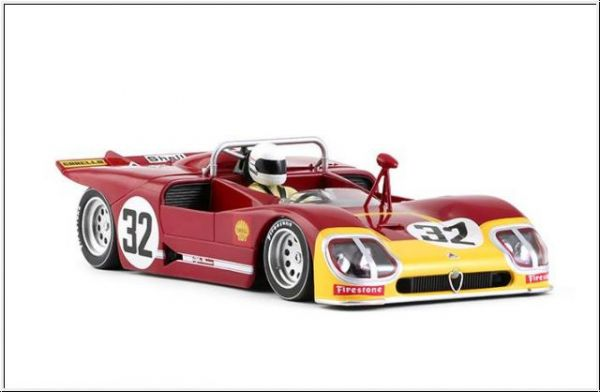 Slot It Alfa Romeo 33/3 #32 12h Sebring 1971 CA11h