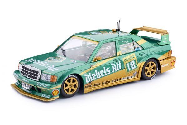 Slot It DTM Mercedes 190E 2.5-16 DTM Team Diebels Alt Zolder 1992 No. 18