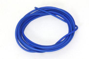 Scaleauto Motoranschlußkabel Silikon ø1mm 100cm blau SC-1633