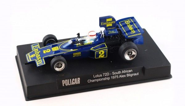Policar Lotus 72E South Africa 1975 No. 2 CAR02F