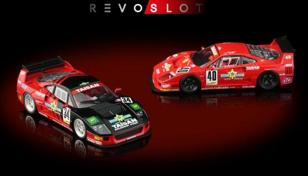 REVOSLOT F40 Special Edition BoxTwin-Pack m.2 Autos RS0099