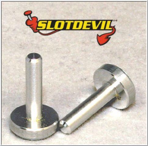 Slotdevil Stummelachse Alu 2,38 x 12 mm (2 Stück)