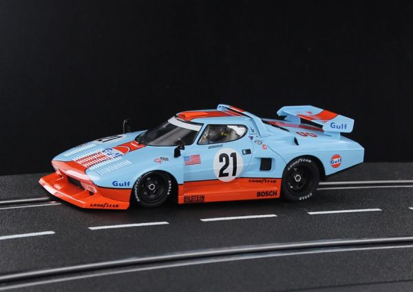 Sideways Lancia Stratos Gulf - Historic Colours HC07A