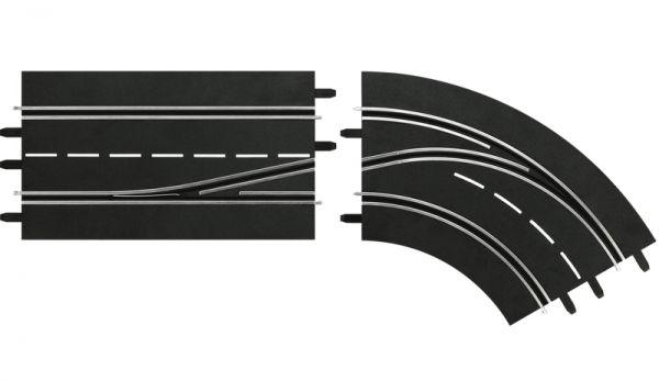 Carrera Digital 132/124 Spurwechselkurve 30364