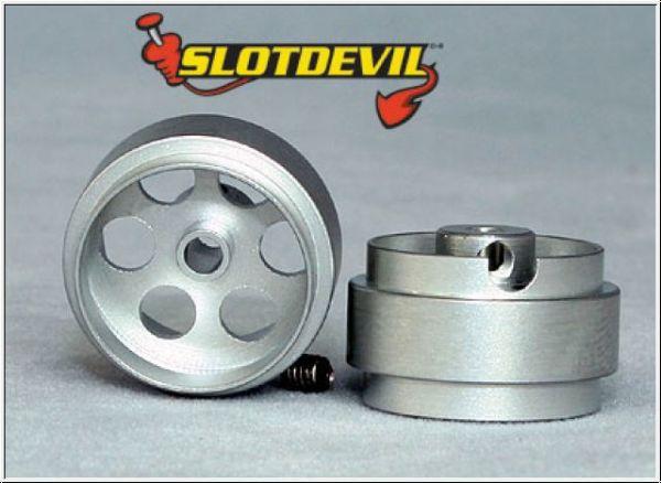 Slotdevil Felge Aluminium 15,9 x 8,5 2,38 mm (2 Stück)