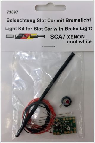 Eicker Beleuchtungsset mit Bremslicht Xenon