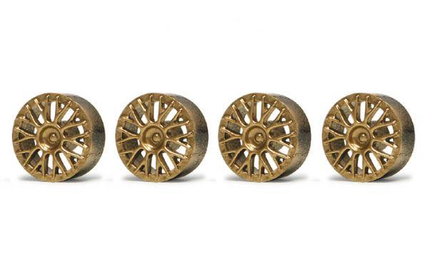 Slot It Felgeneinsätze BBS Gold für PA04 / PA17 / PA24 PA03G
