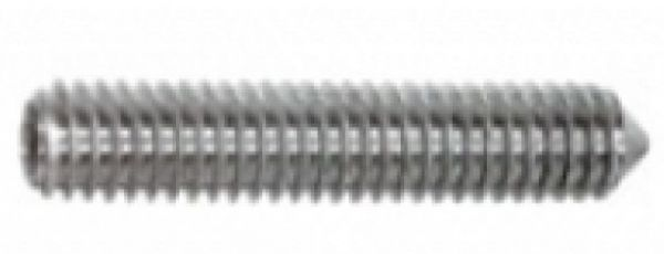 Slot Maniac Gewindestift M2x2 Sechskant Edelstahl (10Stk) -Kegelkuppe