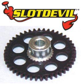 Slotdevil Spurzahnrad Kunststoff V2 44 Zähne 3 mm braun 20250644
