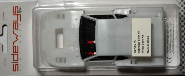 Sideways Karosserie BMW M1 Schnitzer Body Kit 1:32 SBKSC1A