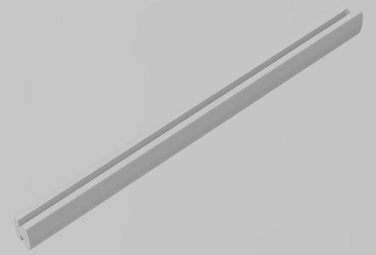 Slot-Store Zaunpfosten 95 mm für Fangzaun 130 mm (1Stk) SSZPF95